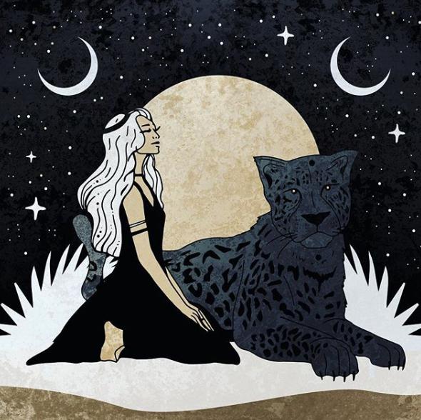 Luna nueva de julio—un nuevo camino creativo