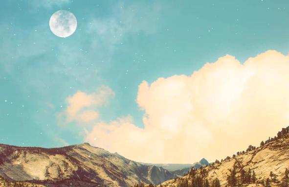 Luna llena de septiembre—el renacer del alma