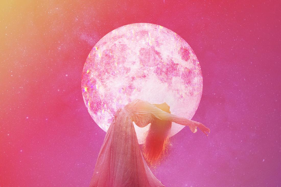 Dale la bienvenida a la pacífica y soñadora luna llena en Virgo