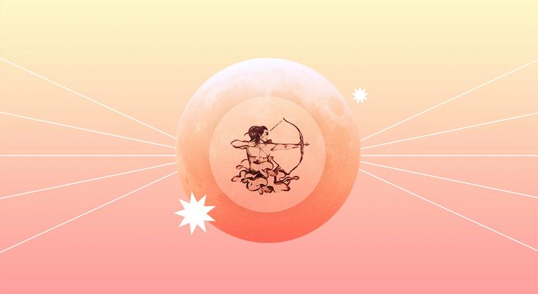 El eclipse lunar en Sagitario te reta a abrir tu menta
