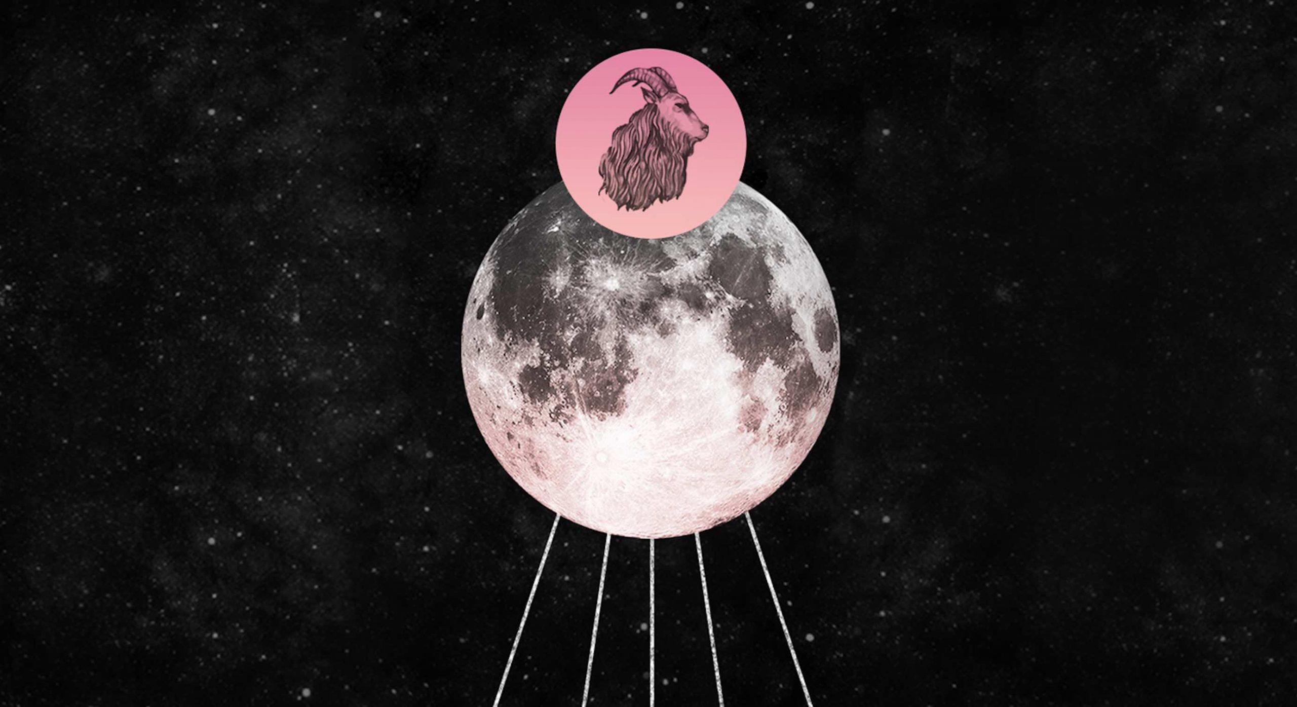 La luna llena en Capricornio llega para traerte frutos por tus esfuerzos